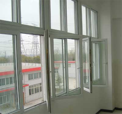 塑钢平开窗