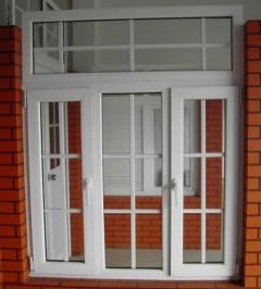 欧式塑钢平开窗
