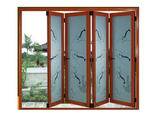 铝镁合金折叠门系列