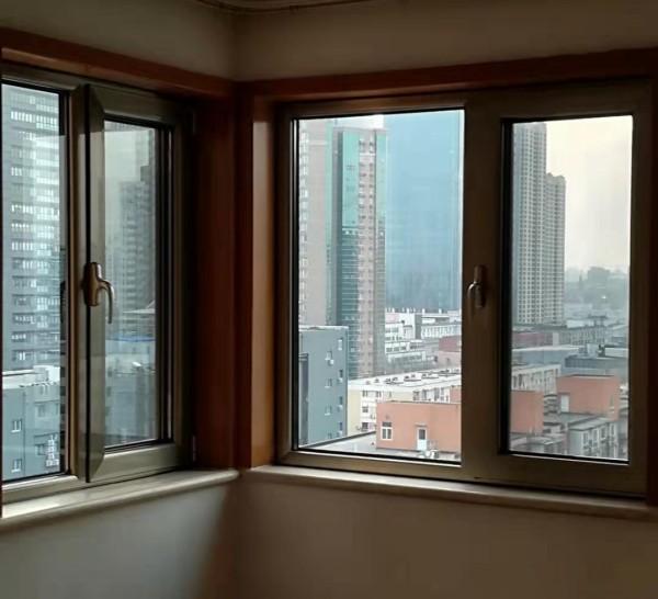 中亚断桥铝大70系列隔音保温门窗
