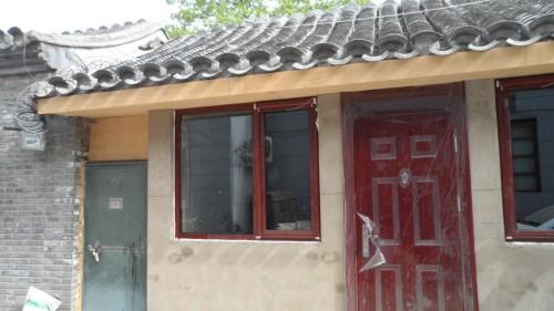 东城翠花胡同仿古断桥铝门窗