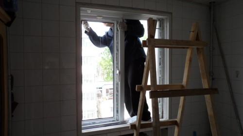 大兴枣园东里塑钢封阳台