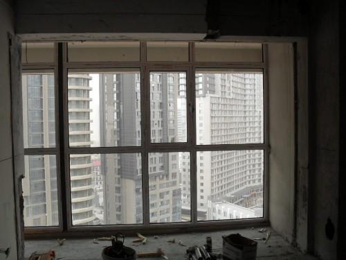 海淀柏儒苑4号楼断桥铝门窗