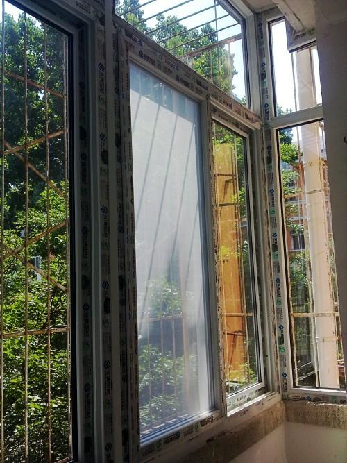 塑钢门窗小区改造工程