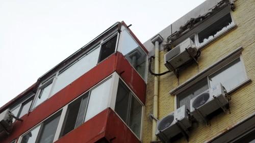 矿业大学塑钢门窗断桥铝封阳台