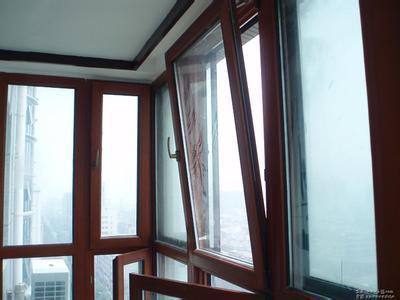 铝包木门窗封阳台效果图