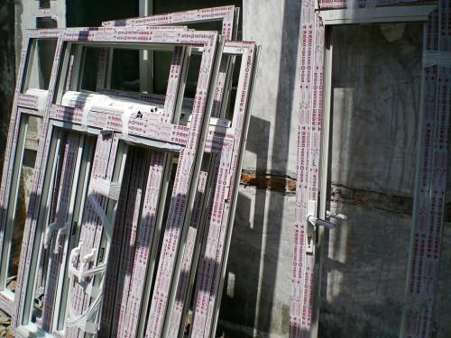 实拍西城凤铝断桥铝门窗安装图片