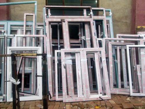 实拍德国红卡海淀断桥铝门窗安装案列