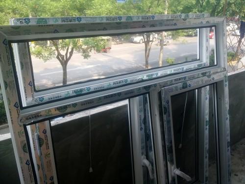 实拍西城区槐柏树北里塑钢门窗封露台