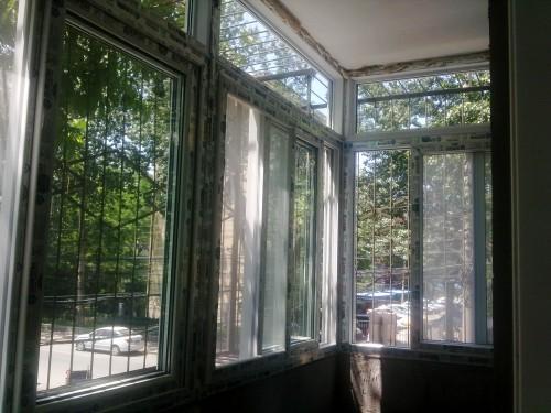塑钢窗封阳台