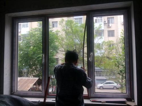 彩色塑钢门窗