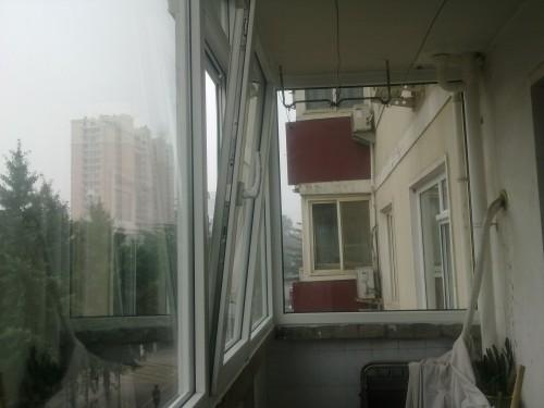 塑钢平开上悬窗