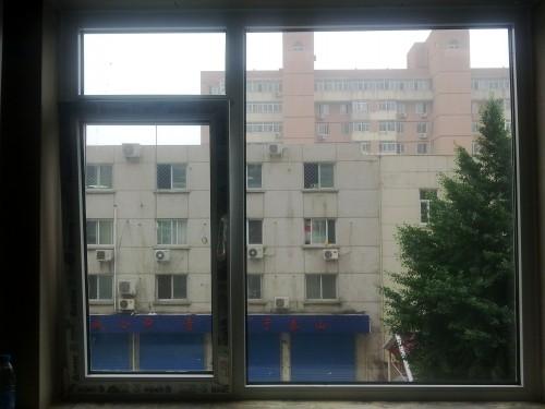 实德塑钢平开上悬窗