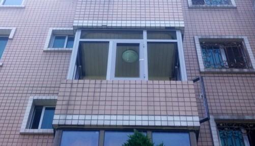 红卡断桥铝门窗封阳台