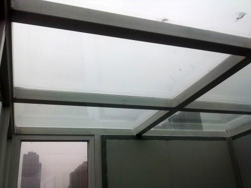 断桥铝阳光房钢结构