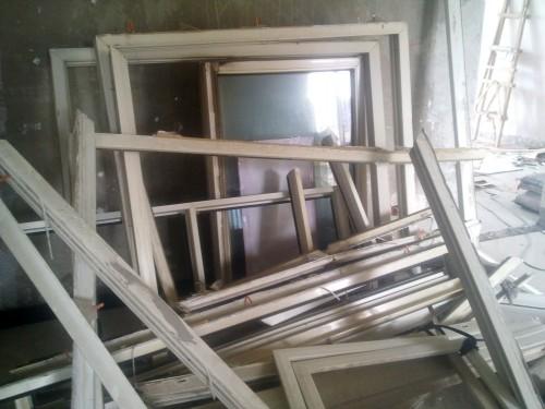 以前的旧窗户