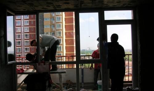 凤铝断桥铝门窗封阳台