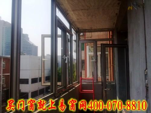 实拍学院南路82号院凤铝断桥铝门窗安装案列