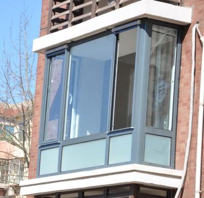 忠旺断桥铝门窗水密性好:门窗设计有防雨水结构
