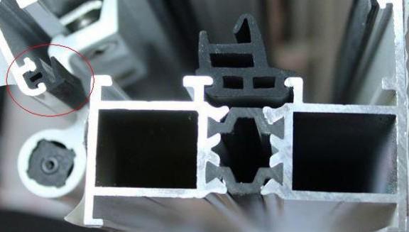 断桥铝窗户TPE胶条