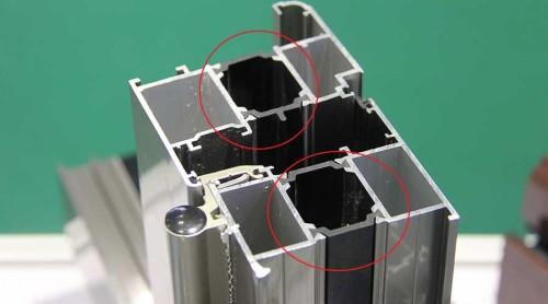 断桥铝门窗型材的心脏部位---隔热条