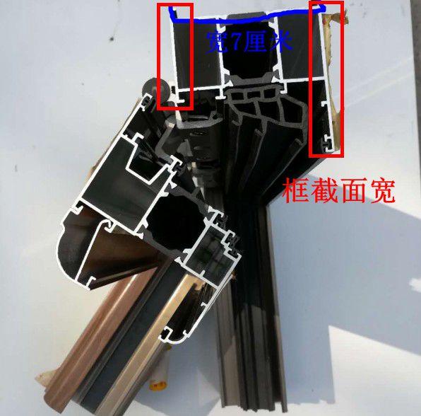 80系列的断桥铝门窗多少钱一平米?80和60区别