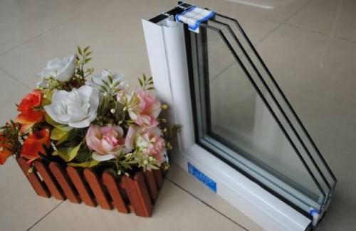 三层玻璃断桥铝窗