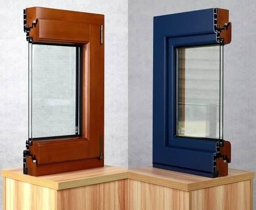 铝包木门窗