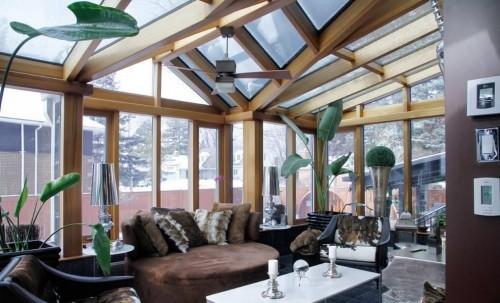 质疑阳光房千万不要用玻璃顶,那用什么?