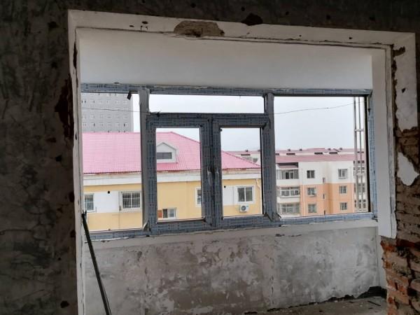 延庆川北小区亚铝大70系列断桥铝门窗