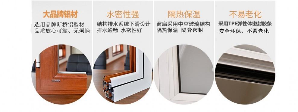 北京断桥铝门窗厂